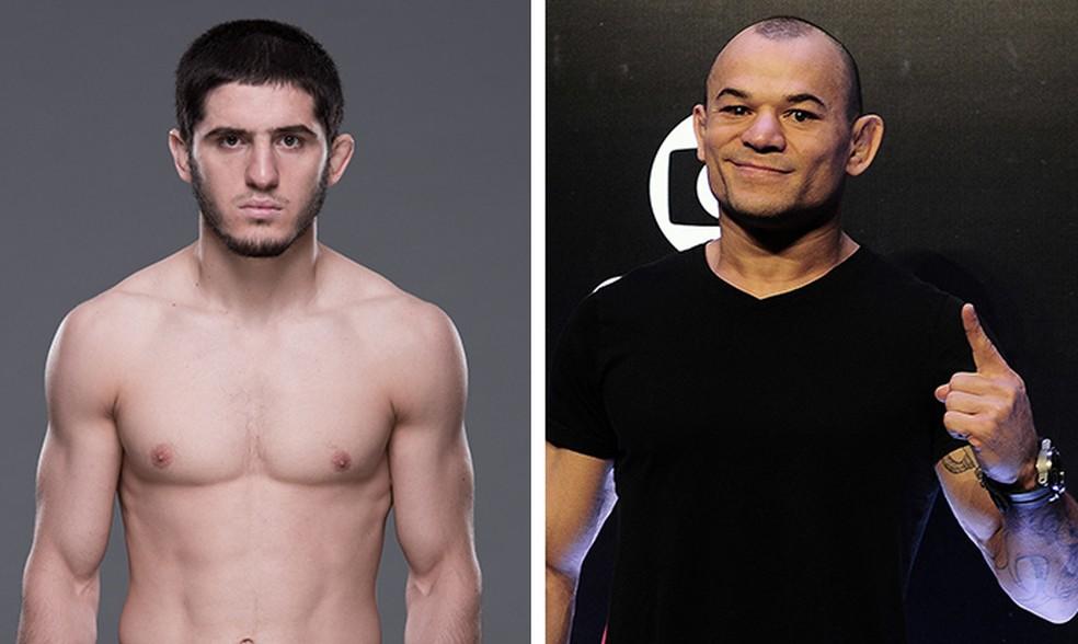 Islam Makhachev x Gleison Tibau é a primeira luta agendada para o UFC 220 (Foto: Infografia)