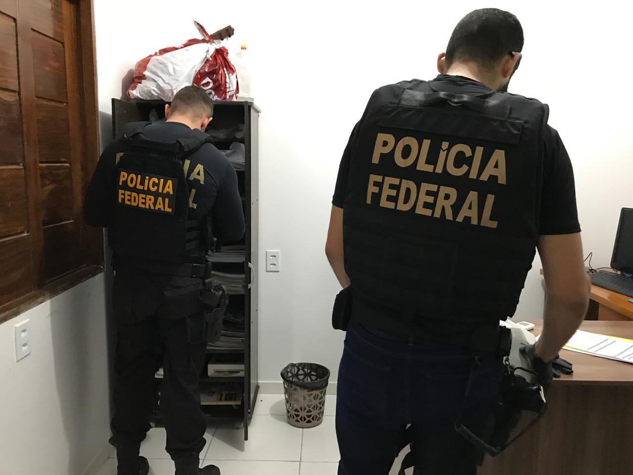 PF cumpre três mandados de prisão em operação para combater esquema de grilagem no AP