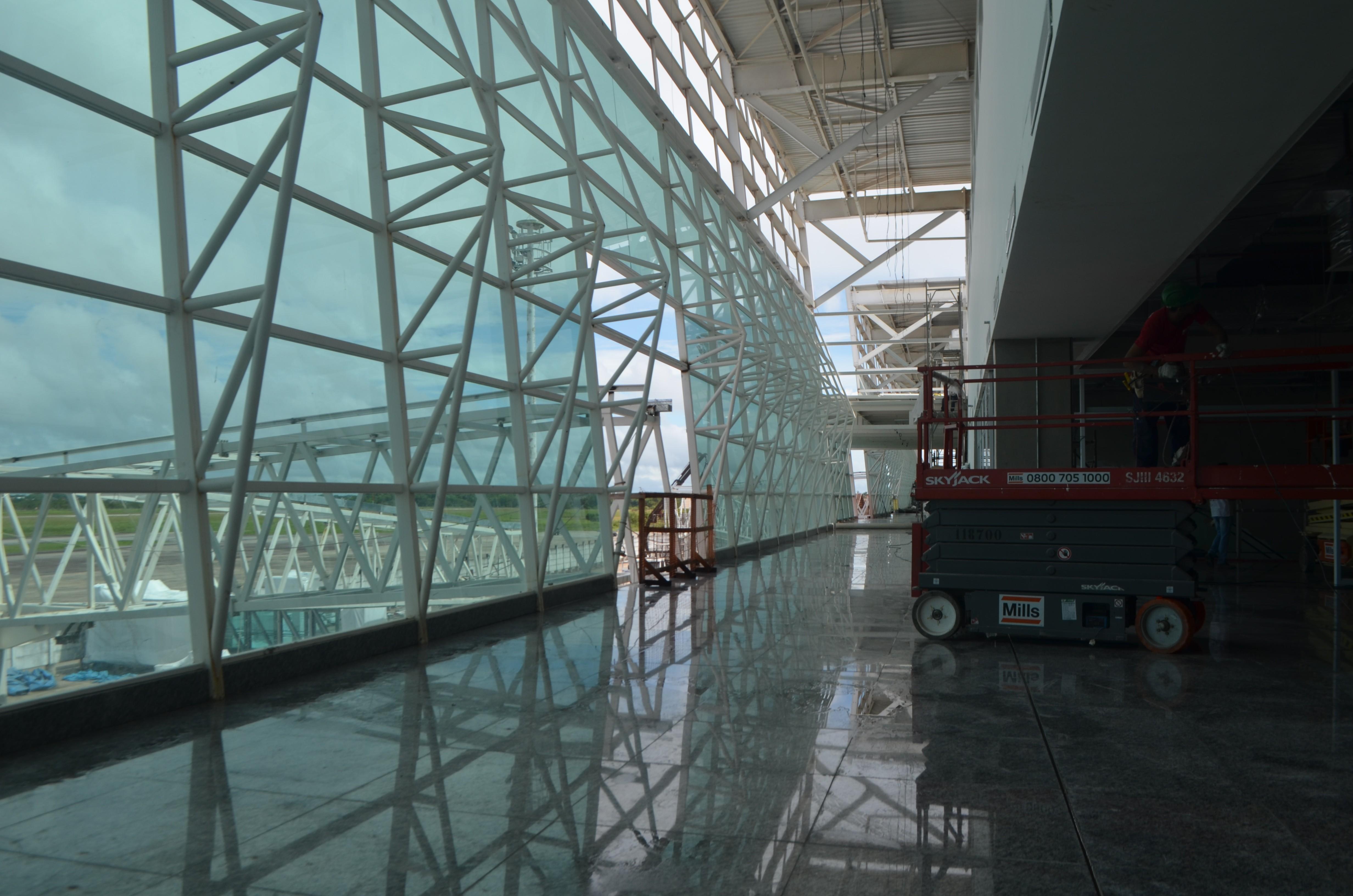 Iniciada há 15 anos, obras do novo aeroporto de Macapá estão 92% concluídas - Noticias