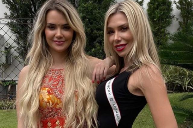 Marcela Mc Gowan e a irmã, Mariane (Foto: Reprodução)