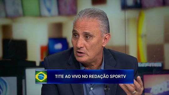 """Tite reconhece pressão por título da Copa América: """"Tem que ganhar"""""""