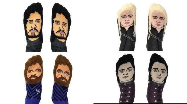 Os personagens são Arya Stark, Jon Snow, Daenerys Targaryen e Tyrion Lannister (Foto: Divulgação)