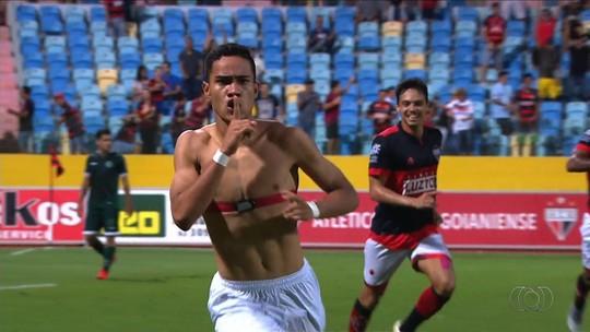 Reginaldo comemora vitória e vantagem importante sobre o Goiás na final do Goianão