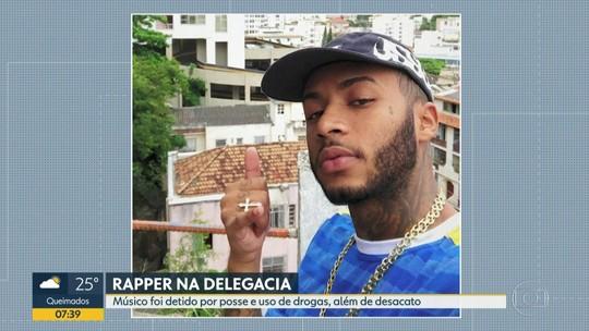 Rapper Orochi é detido no RJ por porte de drogas e desacato