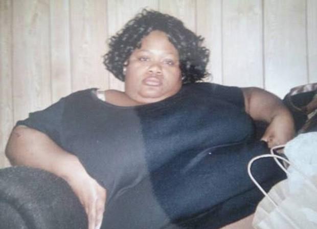 Chasity Davis sofreu com problemas cardíacos antes de emagrecer (Foto: Reprodução / Facebook)