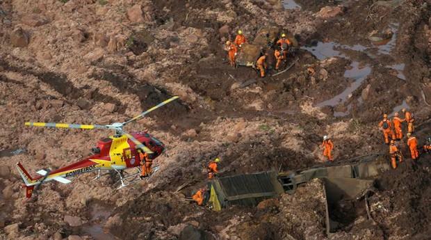 Desastre em Brumadinho: segundo secretário, startups podem ajudar a minimzar a tragédia (Foto: Agência Brasil)