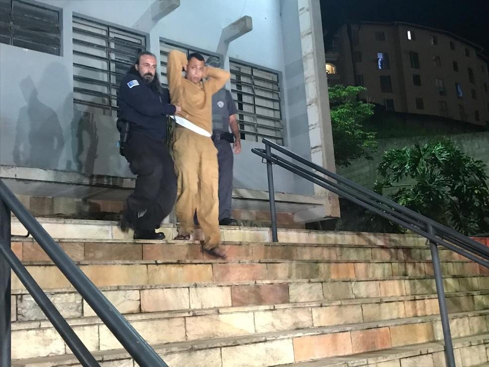 Júlio Ergesse foi condenado a mais de 30 anos de prisão por morte de Vitória Gabrielly — Foto: Carlos Dias/G1