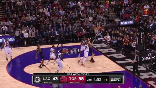 Melhores momentos: Toronto Raptors 92 x 112 Los Angeles Clippers