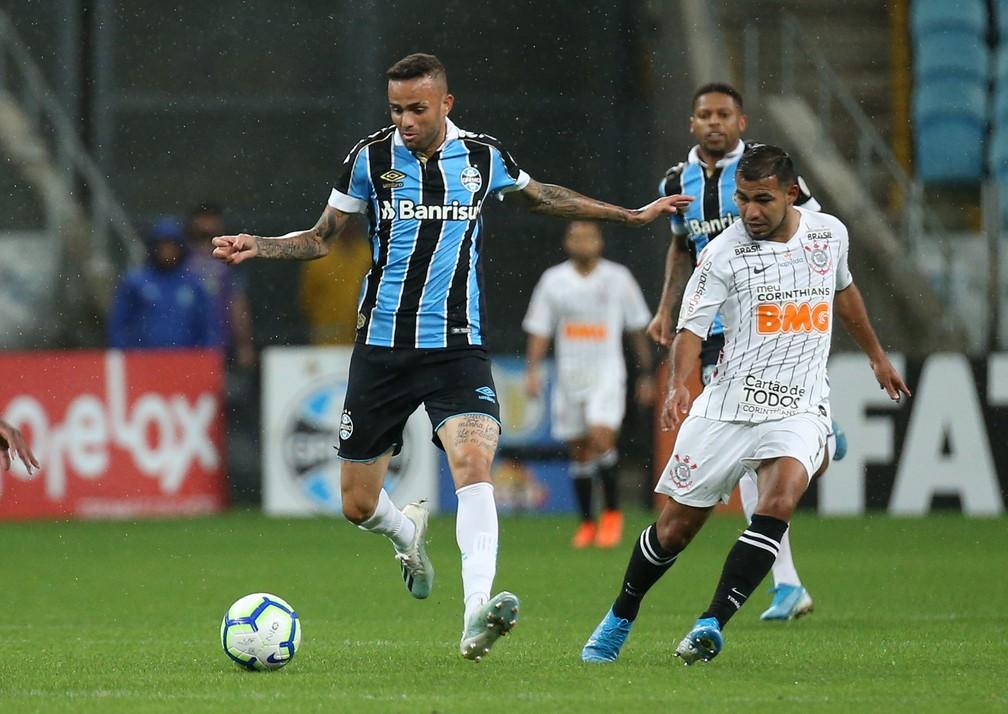 Luan está mais perto de um acerto com o Corinthians — Foto: Raul Pereira/Agência Estado