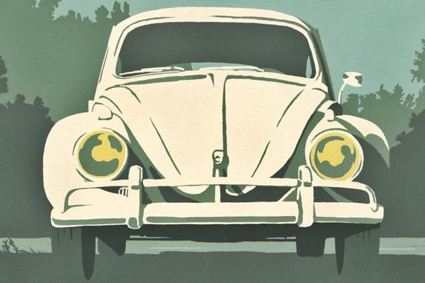 Volkswagen Fusca Animação (Foto: Divulgação )
