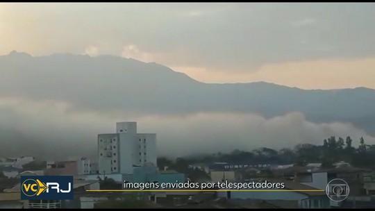 Explosão em indústria química espalha fumaça em Resende