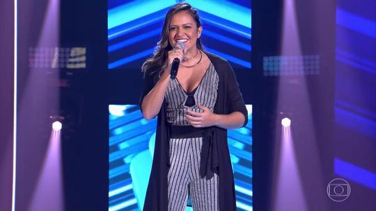 Confira a estreia de Júlia Dantas no 'The Voice Brasil'