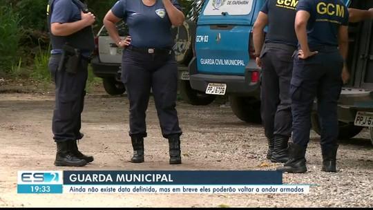 Guardas municipais de Cachoeiro de Itapemirim poderão voltar a andar armados