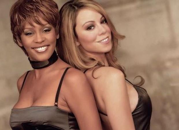 Whitney Houston é homenageada por Mariah Carey no dia de seu aniversário  (Foto: Reprodução/Instagram)