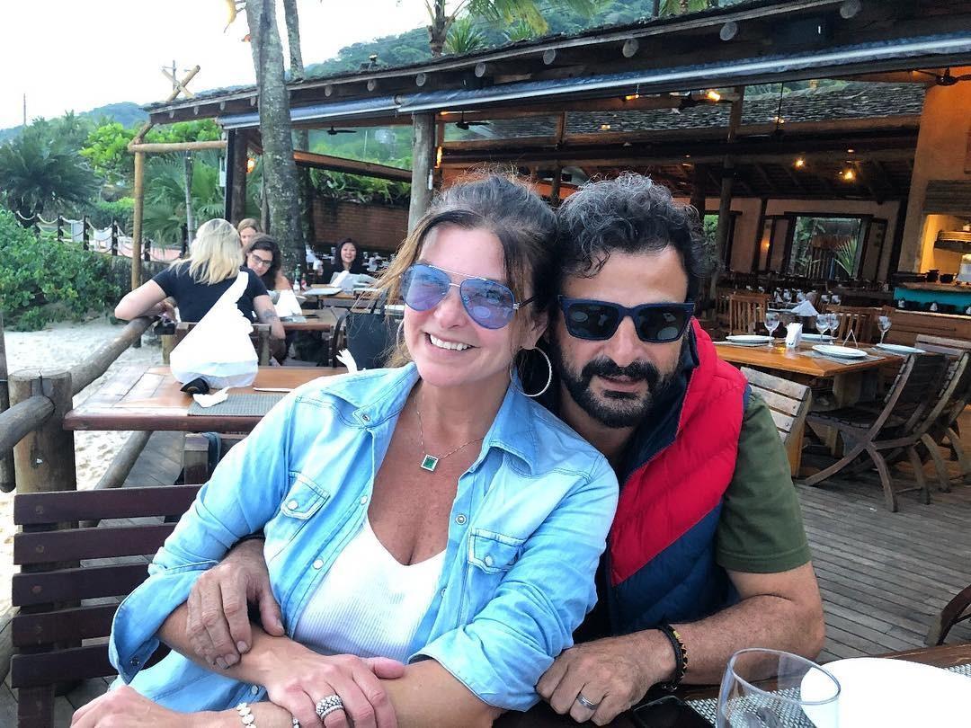 Cristiana Oliveira e Sergio Bianco (Foto: Reprodução Instagram)