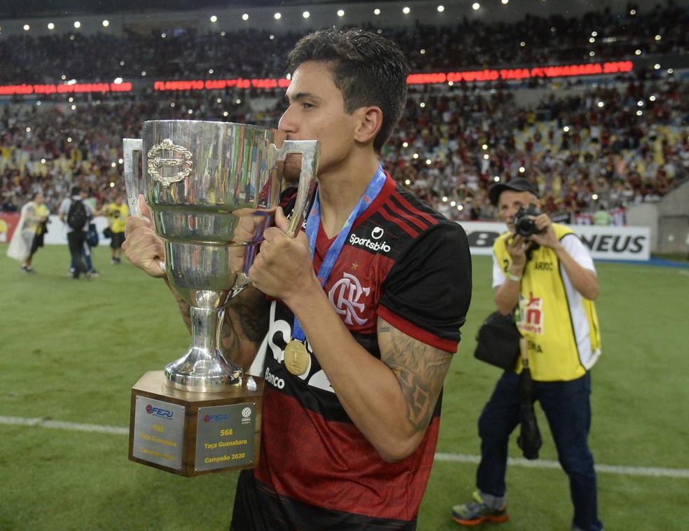Flamengo levou a Taça Guanabara — Foto: André Durão