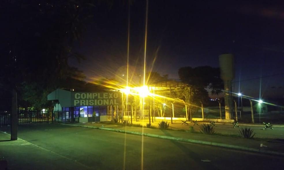 João de Deus está preso preventivamente no Complexo Prisional de Aparecida de Goiânia, em Goiás ? Foto: Henrique Ramos/TV Anhanguera