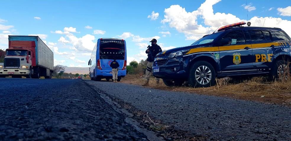 Operação Independência 2020 da PRF reforçou fiscalização em rodovias do Brasil de quinta-feira (4) até às 23h59 de segunda-feira (7). — Foto: PRF/ Divulgação