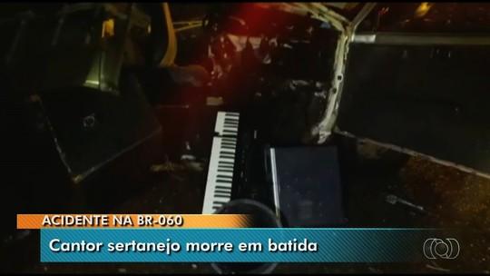 Morto em acidente na BR-060 era cantor sertanejo do Acre e tentava sorte na música em Goiás, diz PRF