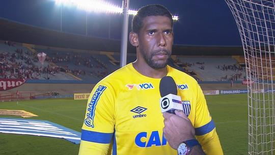 Aranha comenta derrota do Avaí para o Vila Nova na estreia da Série B