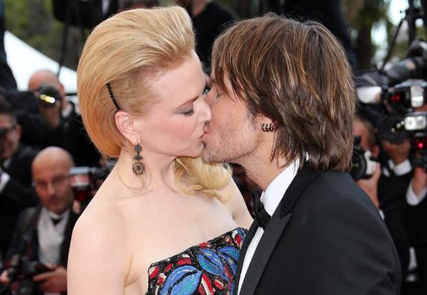 Nicole Kidman e Keith Urban (Foto: Grosby Group)