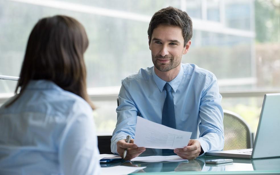 9771ef06f ... Candidato deve ter cuidado para não dar respostas ruins durante a  entrevista de emprego — Foto