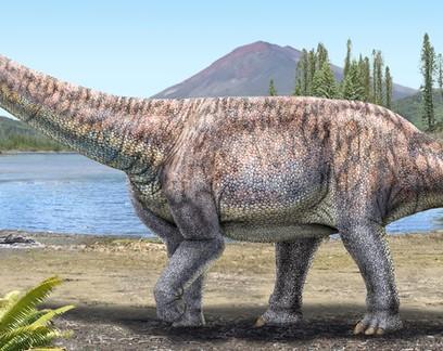 Nova espécie gigante de dinossauro é descoberta no Deserto do Atacama