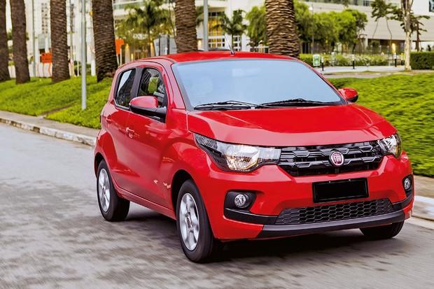 Fiat Mobi Drive GSR ⁄ R$ 44.780* Positivo: Negativo: *Preço sugerido (Foto: Divulgação)