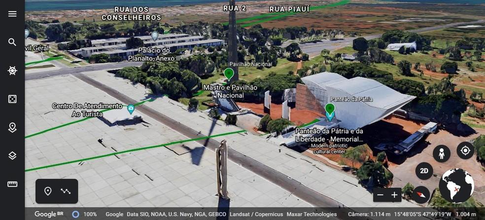 Brasília Tour Virtual — Foto: Setur-DF/Divulgação