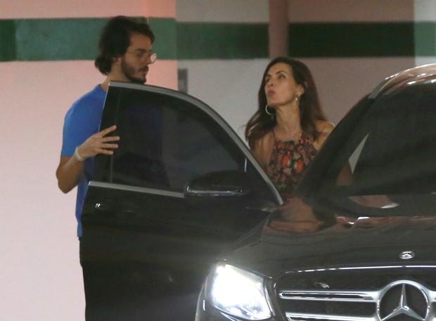 Fátima Bernardes e Túlio Gadelha (Foto: Thiago Martins/AgNews)