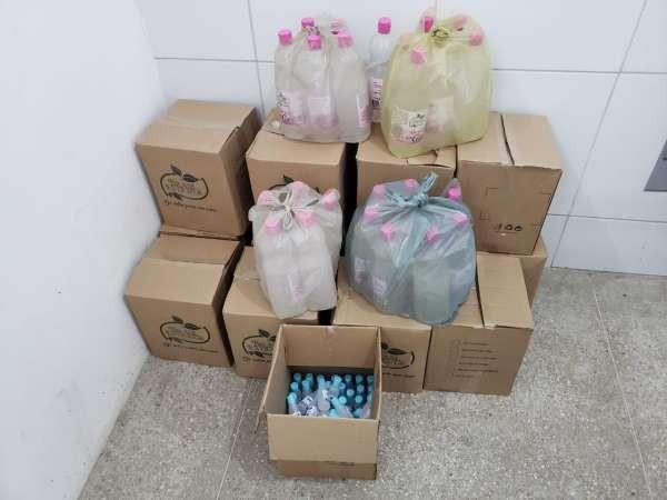 Polícia Civil apreende 183 frascos de álcool em gel com suspeita de adulteração em Quixadá, no Ceará