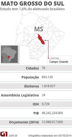 Ficha Mato Grosso do Sul (Foto: Editoria de Arte/G1 MS)