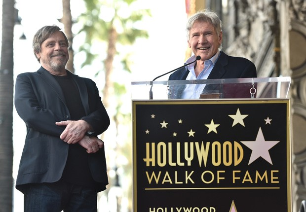 Mark Hamill e Harrison Ford (Foto: Getty Images for Disney)