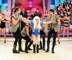 Faro imita Lady Gaga   Reprodução da internet
