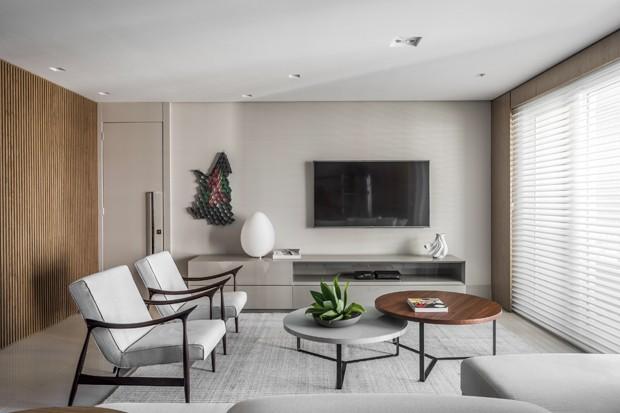 Neste apartamento, a decoração foi feita para durar (Foto: Eduardo Macarios)