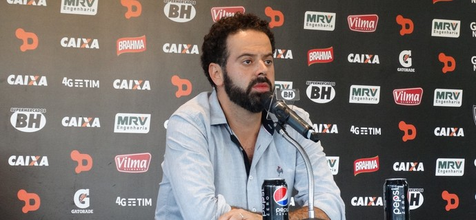 Daniel Nepomuceno, presidente do Atlético-MG (Foto: Fernando Martins Y Miguel)