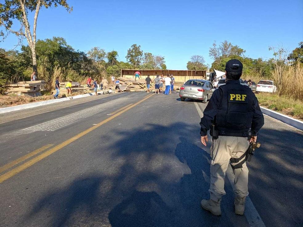 Caso ocorreu na manhã desta sexta-feira (2).  — Foto: Blog do Braga