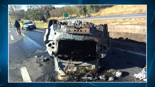 Acidentes deixam mortos em estradas que cortam Minas Gerais