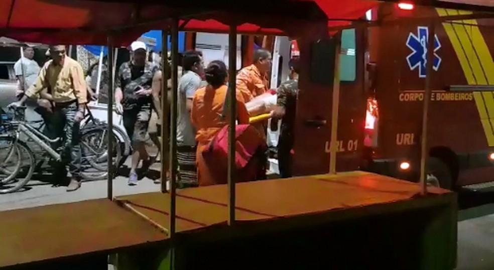 mulher baleada - Polícia prende suspeito de atirar em PM no centro de Belém