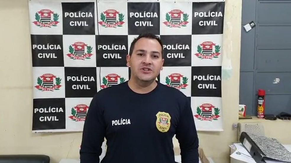 Delegado Jorge Mazzi, da Polícia Civil de Aguaí, vai investigar o caso — Foto: Polícia Civil/Divulgação