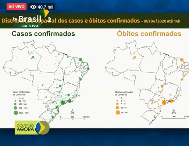 Coronavírus: 86% dos municípios ainda não tem casos confirmados (Foto: Reprodução Facebook)