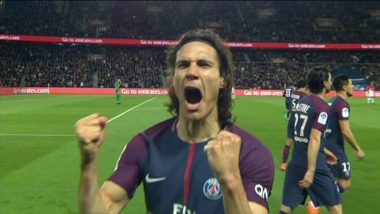 PSG pinta o sete na conquista do título francês contra o Monaco