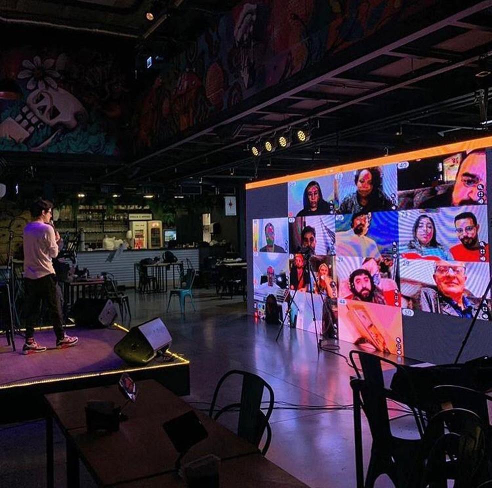 Palestra terá participação da plateia através de plataforma de streaming — Foto: Divulgação