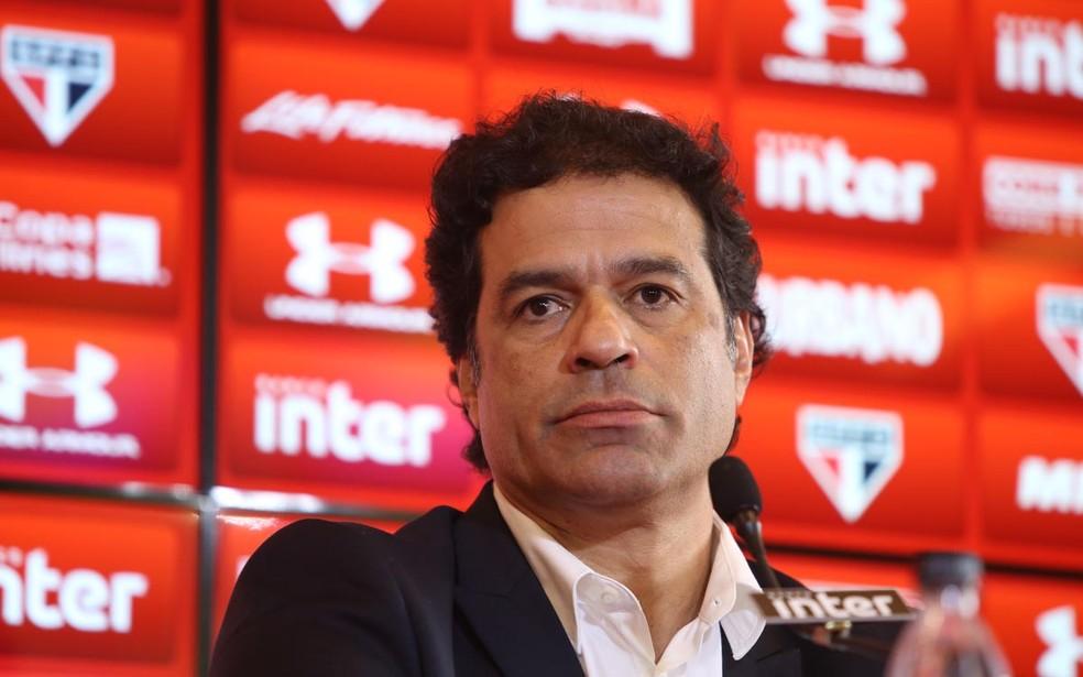 Raí assume o cargo de diretor de futebol do Sâo Paulo (Foto: Rubens Chiri/saopaulofc.net)
