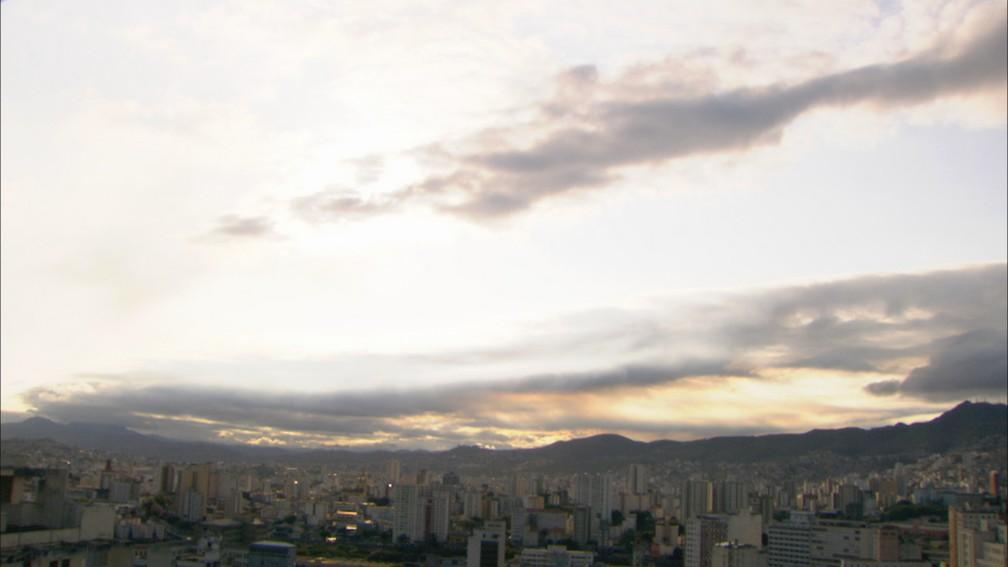 Chegada da primavera traz refresco para Belo Horizonte  — Foto: Reprodução/TV Globo