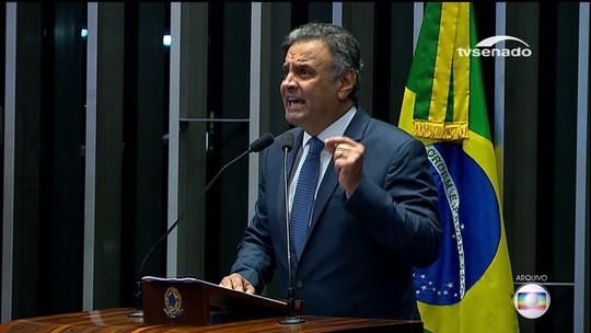 Marco Aurélio Mello diz que deve levar a julgamento até o final do mês pedido de prisão de Aécio