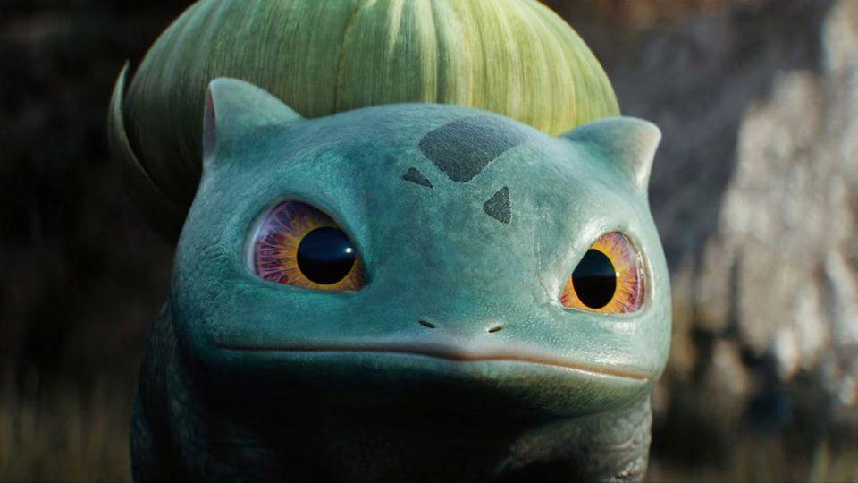 Bulbasaur é um dos Pokémon a aparecerem no filme Detetive Pikachu (Foto: reprodução / Detetive Pikachu)