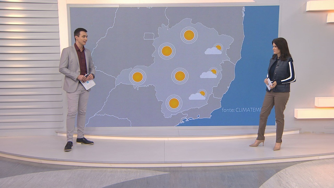 Temperaturas ficam em elevação nesta terça-feira em todo o estado de Minas Gerais
