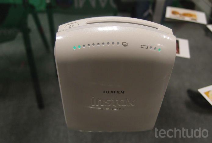 Impressora portátil da Fujifilm (Foto: Pedro Zambarda/TechTudo)