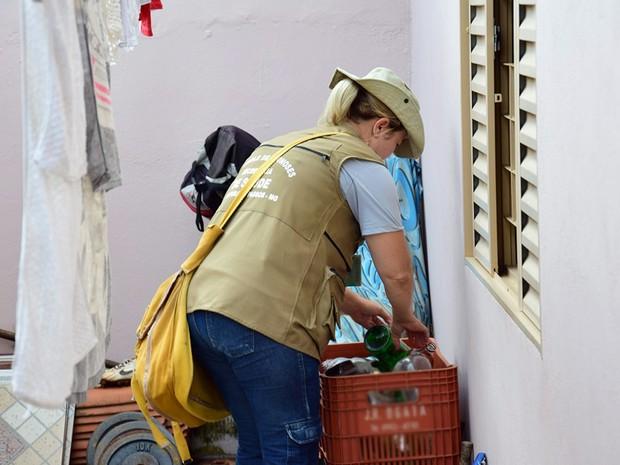 Combate Aedes Aegypti, Passos (Foto: Ascom/Prefeitura de Passos)